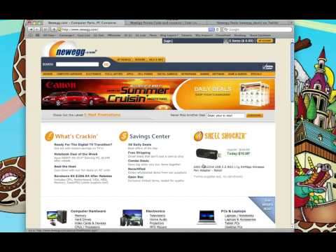 Newegg Promo Code and tour