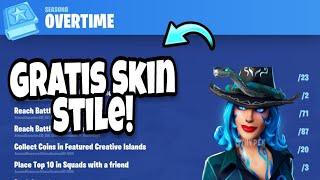 FREE Bonus Challenges and Season 9 Battelpass! (that's how it goes) Fortnite Season 8 English