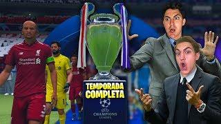 ¡FINAL CHAMPIONS! Temporada completa MODO CARRERA