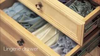 Drawer Options For Custom Closet Systems