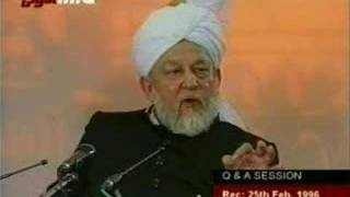 Ahmadiyya - Q/A Session 25/02/1996 10/11