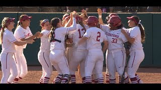 Recap: Stanford softball upsets No. 2 UCLA to take game one of the series