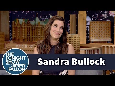 Sandra Bullock † s Son Picked Her Out a Slutty Batgirl Halloween Costume