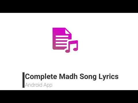 Lyrics_Madh Song Lyrics – Programme op Google Play
