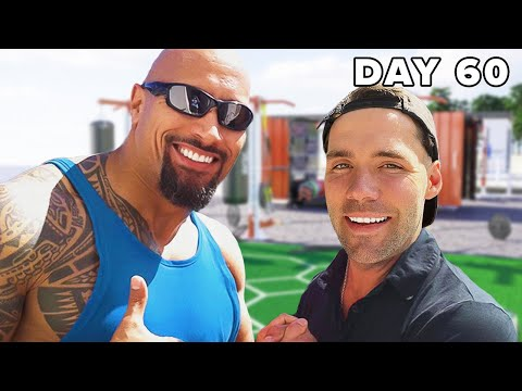 """I WORKED OUT LIKE """"THE ROCK"""" FOR 60 DAYS #shorts - Isaiah Photo"""
