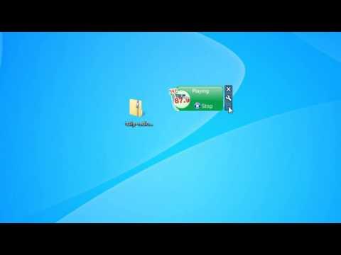 Tulip Radio Sidebar Player Windows 7 Sidebar Gadget