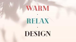 디자인을 따뜻하고 포근하게 만들고 싶다면?! Relax Warm Design Tip // 존코바 // Photoshop
