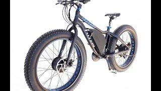 Повнопривідний електро Fat bike Totem 3,4 кВт