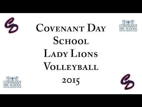 Covenant Day School 2015 Volleyball Highlights