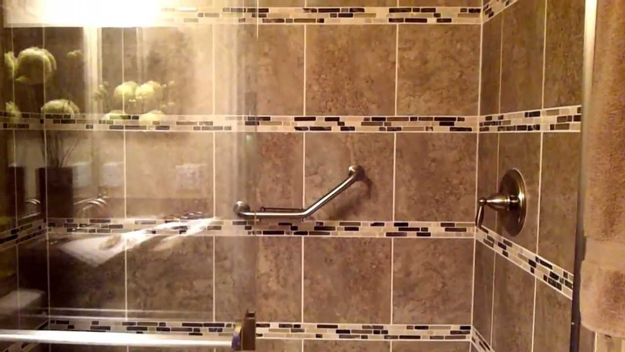 Shower Bar/Bath Handrail Installation - YouTube