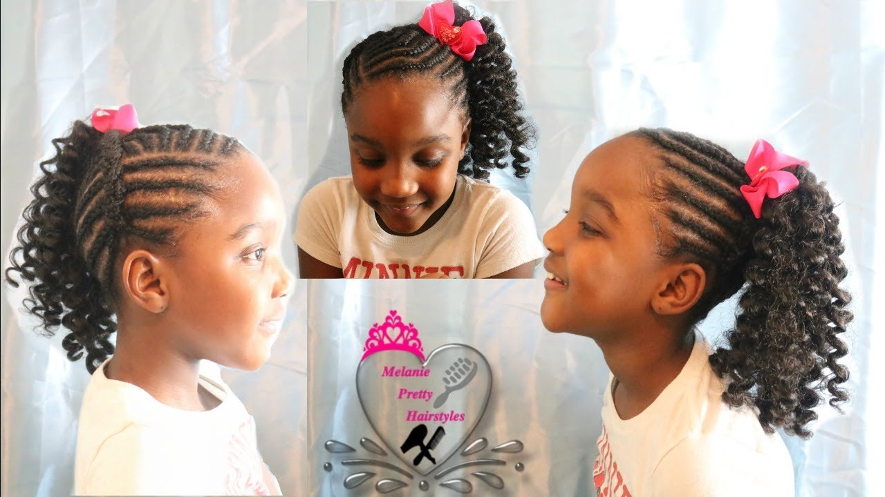 Crochet Ponytail For Girls Kids Hairstyles Hairstyles For Girls