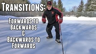Proper Forwards and Backwards Transitions - Hockey Skating Episode 9