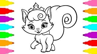 How to Draw Pets Kitty Dreamy from Whisker Haven - Coloring Pages - Drawing and Coloring for Kids