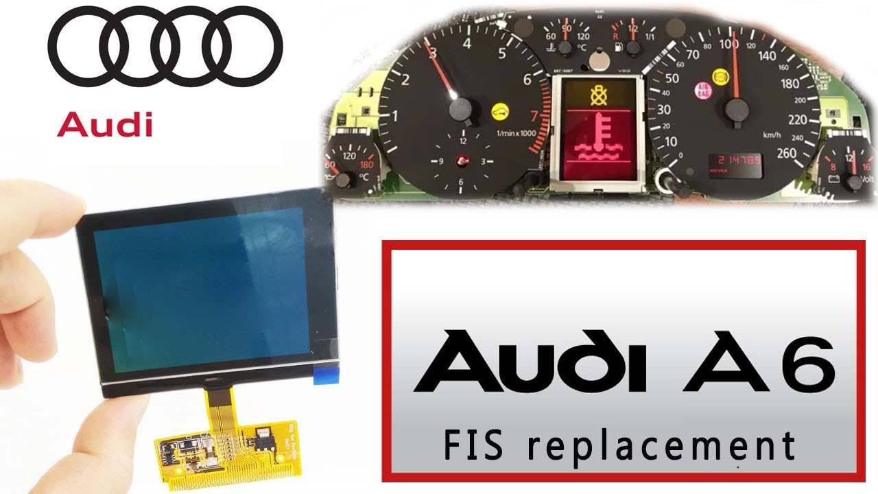 New Instrument Cluster LCD Display Kit for AUDI A3 A4 A6 S4 B5 C5 for VW Sharan
