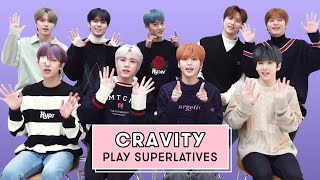 CRAVITY Reveals Who's the Funniest, Who Has the Best Smile, and More | Superlatives | Seventeen