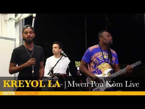 KREYOL LA - Mwen Pou Kòm Live @ FIU NORTH IN MIAMI