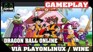 Tutorial e game play Dragon Ball Online no Linux