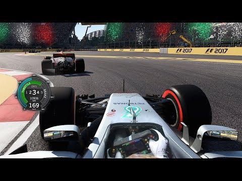 2017 Mexico GP Lewis Hamilton: LAST TO WORLD CHAMPION CHALLENGE F1 Game