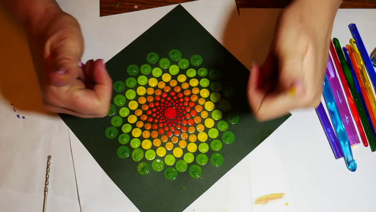 How To Paint Dot Mandalas With Kristin Uhrig Tools And Tipspart