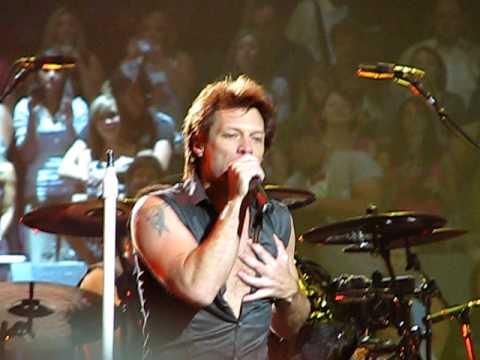 Bon Jovi - Glad all over - Madison Square Garden 2 - Lost Highway Tour 2008