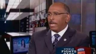 "Michael Steele Accuses Chris Matthews Of ""Ethnic Politics"""