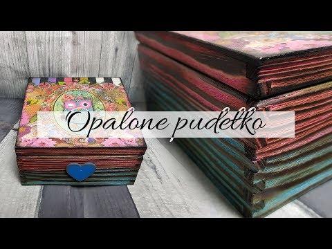 #126 DECOUPAGE OPALANIE DREWNA / OPALANIE PALNIKIEM / OPALONE DREWNO / WOOD BURNING / TUTORIAL