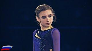 Дарья Усачёва Daria Usacheva Показательные выступления Чемпионат мира среди юниоров 2020
