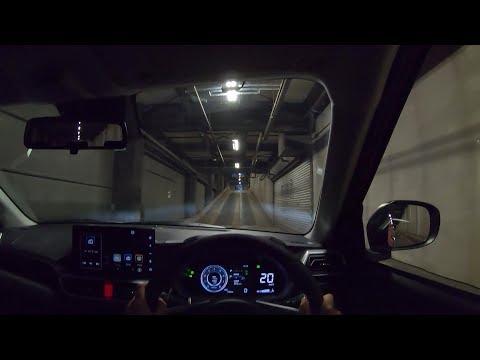 【試乗動画】2019 新型 ダイハツ ロッキー Premium 4WD 夜間試乗