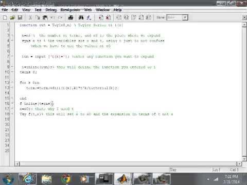 C program to find sinx series
