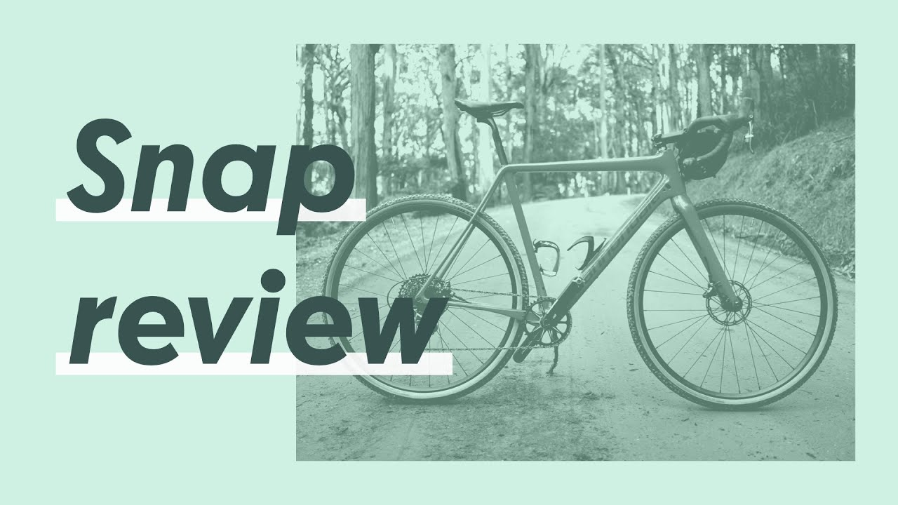 Cannondale SuperX Force 1 SE gravel bike snap review - YouTube