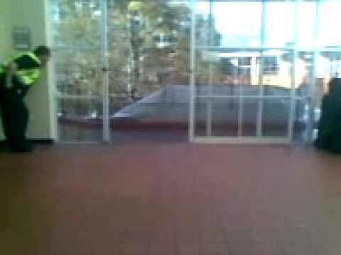 Campus Watch on the Lurk!!! - What is he spying on?!?