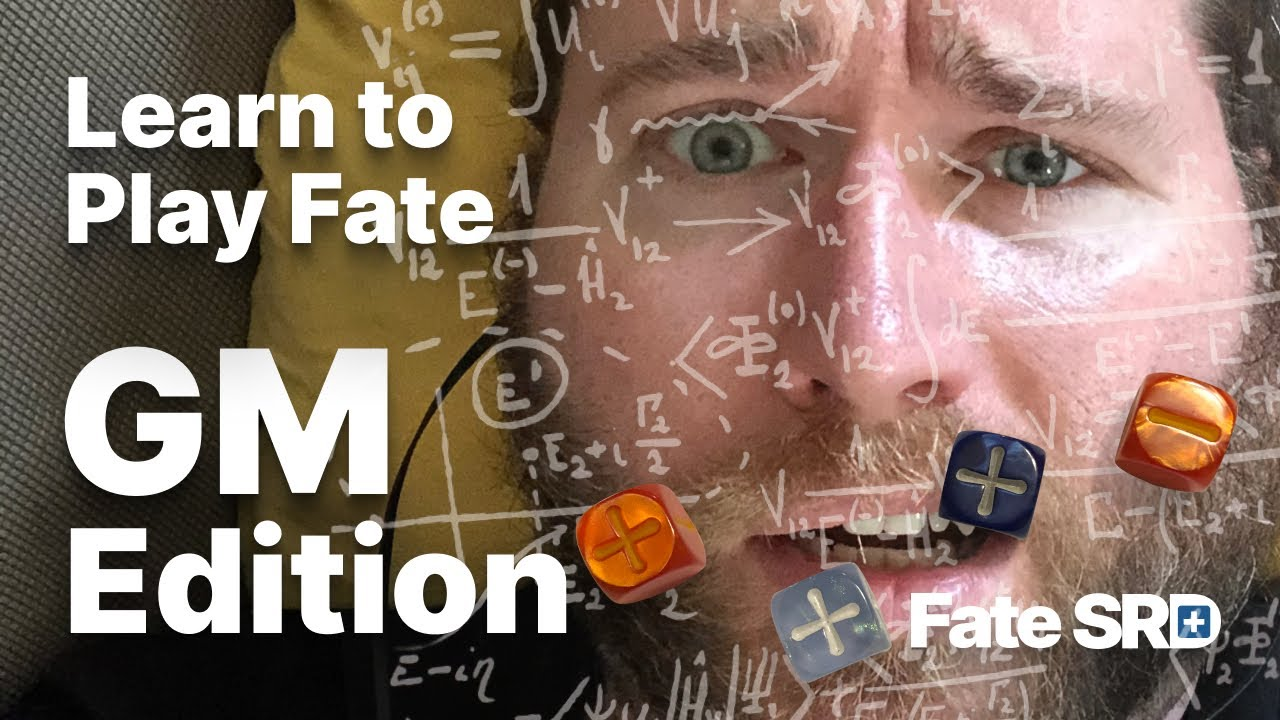 Learn to Play Fate — GM Edition! Dec 2020