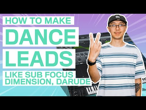 2 DANCE LEADS LEADS LIKE SUB FOCUS, DIMENSION, DARUDE! | Serum Drum and Bass Tutorial