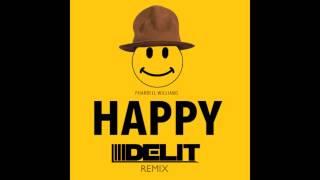 Pharrell Williams - Happy (Delit TWERK Remix)(Free Download)