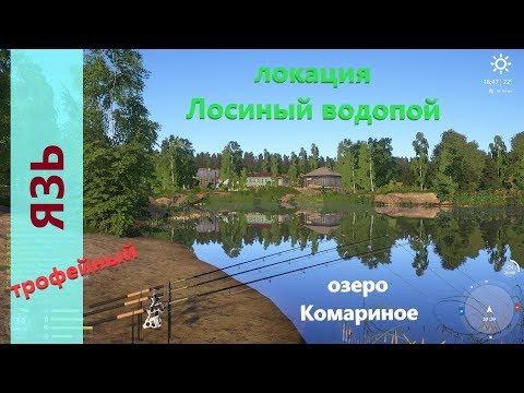 Русская рыбалка 4 - озеро Комариное - Закрываю трофов: язь