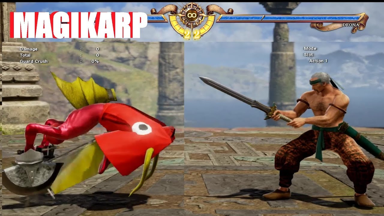 Soul Calibur 6 - Magikarp Character Customization Settings