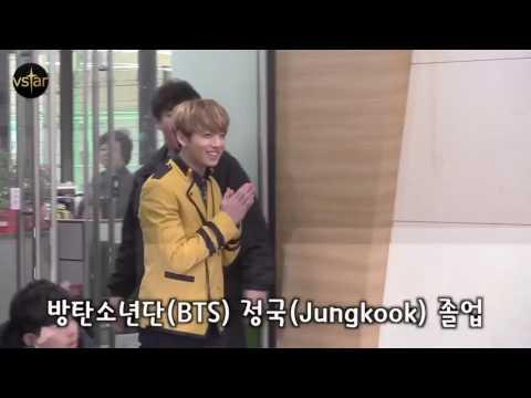 170207 BTS JungKook Graduation Ceremony Interview