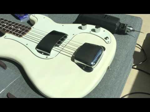 Fender Chrome Vintage Precision Bass Pickup Cover