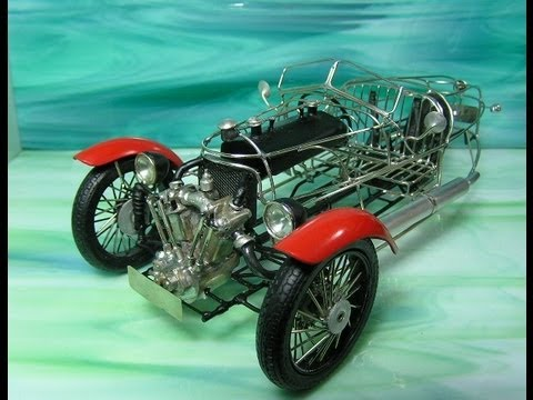 making MORGAN 3wheeler