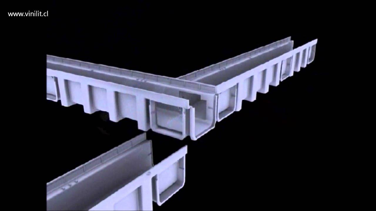 Vinilit paso a paso instalaci n canaleta de piso youtube for Canaletas de agua leroy merlin