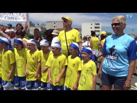 Festivitatea de premiere a Ligii Nationale de Baby Baschet, Mangalia 2016