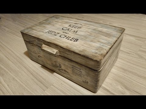 Jak zrobić drewniany chlebak / How to make wooden Bread Bin