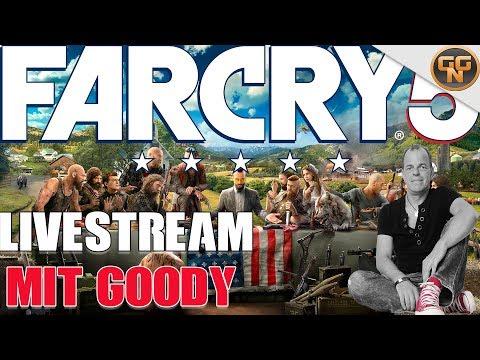 Far Cry 5 - Säuberung von Hope County #4 - Livestream mit Goody