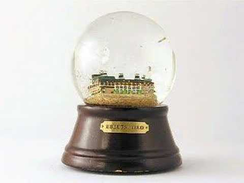 Brooklyn Dodgers Ebbets Field Snow Globe
