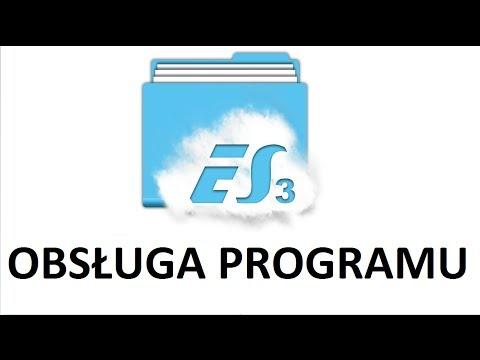 ES File Explorer File Manager - obsługa programu