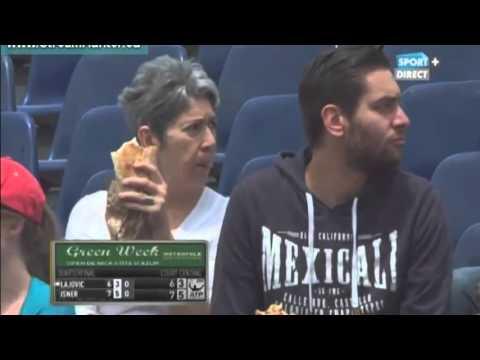 Dusan Lajovic vs John Isner FULL MATCH Nice 2015 PART 2