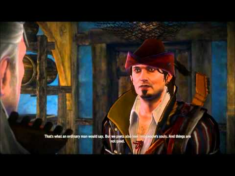 Let's Play The Witcher 2 - Part 36: Talking with Friends