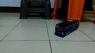 玩具遙控巴士改比例試跑