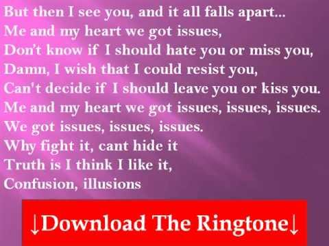 The Saturdays - Issues Lyrics