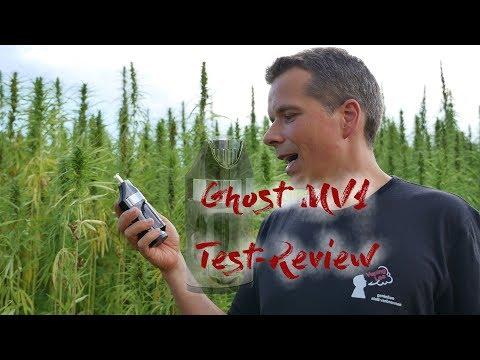 Ghost MV1 Vaporizer Test/Review deutsch